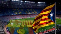 El Camp Nou se ha convertido en un escenario político.