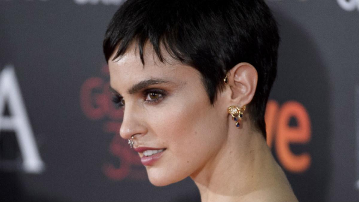 La actriz española Verónica Echegui en la gala de los Goya 2017