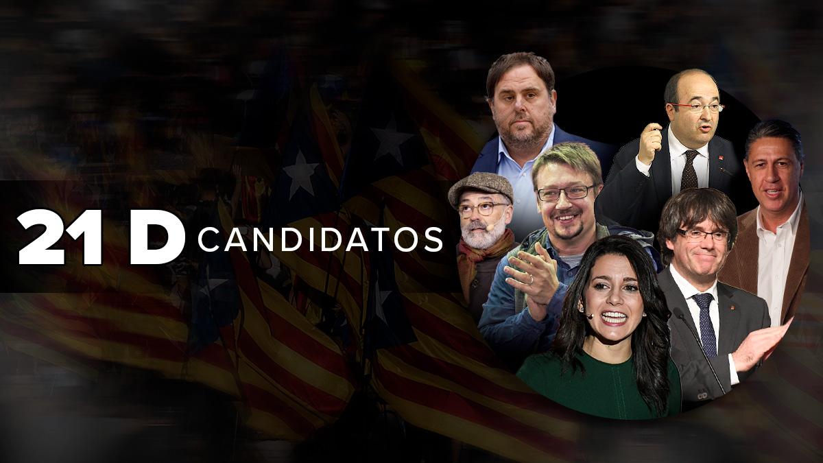 Consulta aquí las candidaturas del 21D.