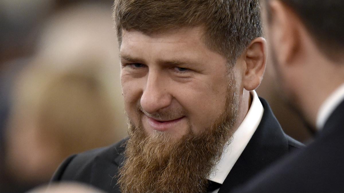 El líder checheno Ramzan Kadyrov, aliado del ruso Vladimir Putin. (AFP)