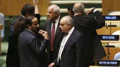 Riyad Mansour es el observador permanente de la misión de la ONU para Palestina (Foto: AFP)