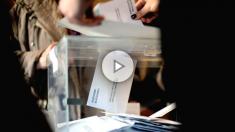 Numerosas personas han ejercido su derecho al voto en las mesas electorales de la Escola Industrial de Barcelona, más de cinco millones y medio de catalanes están llamados a las urnas en esta jornada de elecciones autonómicas (Foto: Efe)