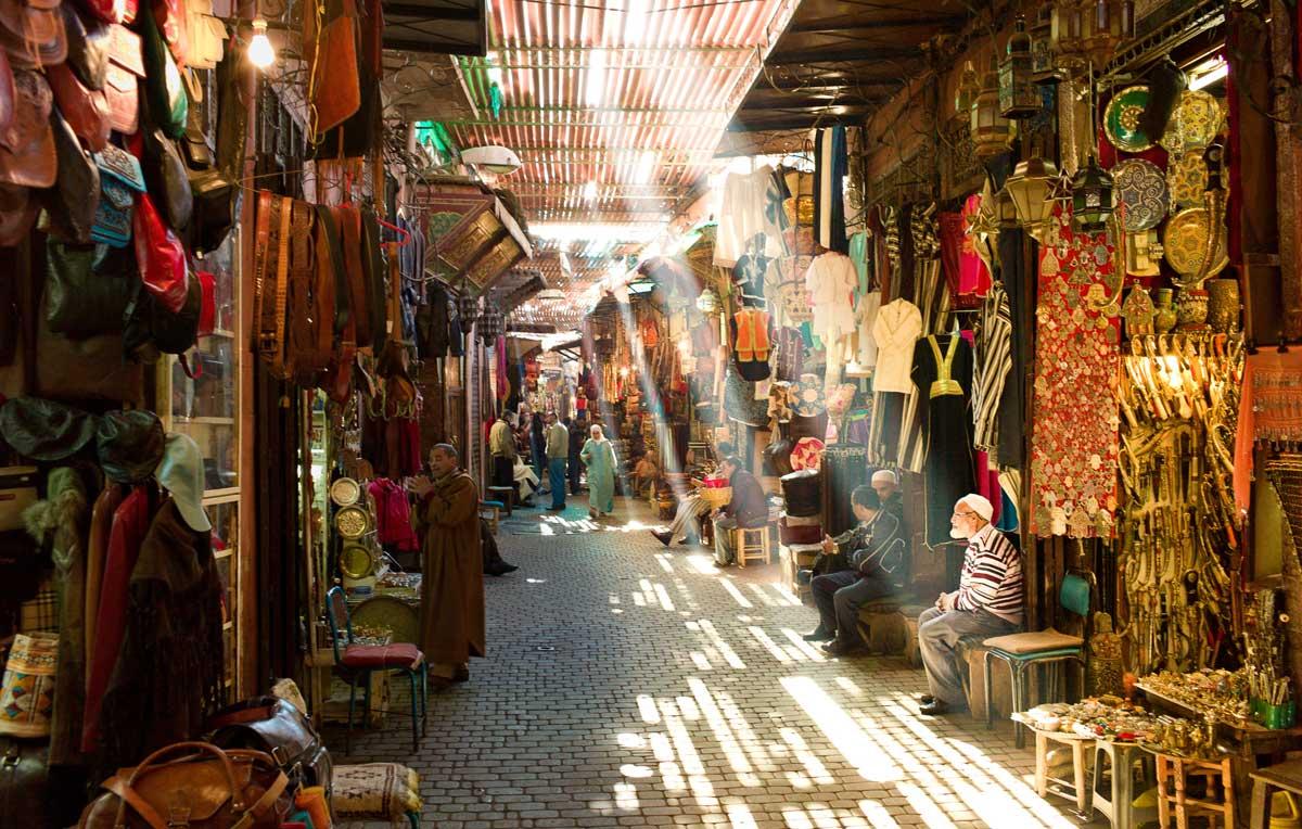 La Medina de Marrakech.