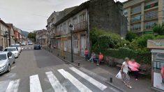 Calles de Gondomar (Pontevedra), donde han desaparecido las dos menores.