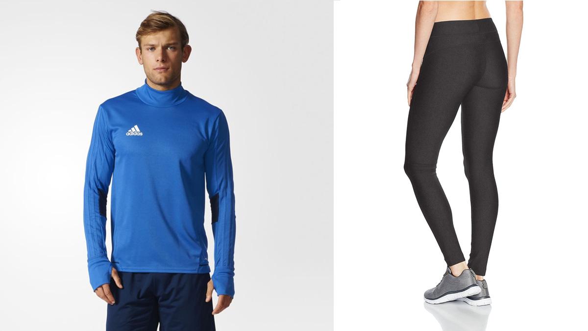 Chaquetas, calcetines, leggins, bandanas… ¡La mejor ropa deportiva a los precios mas bajos!