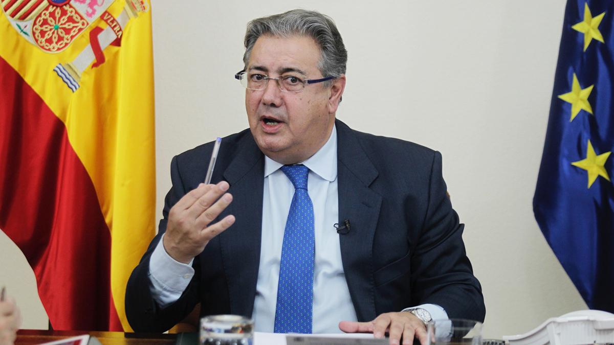 Juan Ignacio Zoido, ministro del Interior. (Foto: Francisco Toledo)   Disolución ETA