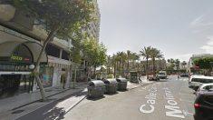 Calle Canónigo Molina Alonso de Almería.
