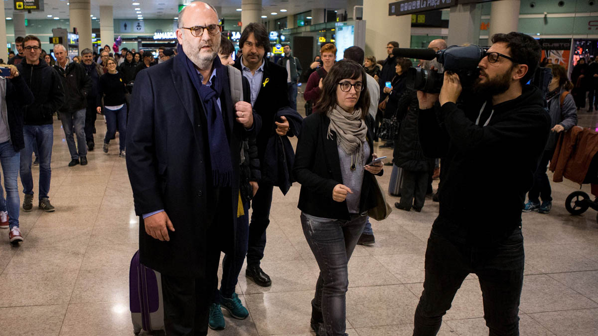 El portavoz de Junts per Catalunya, Eduard Pujol (Foto: EFE)