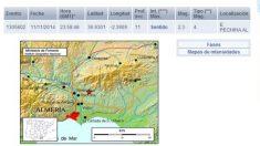 Terremoto en Pechina (Almería)