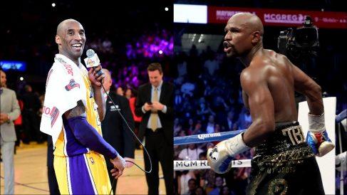 Kobe y Floyd.
