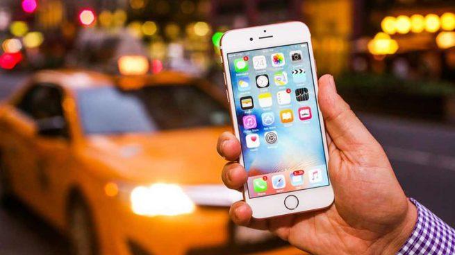 Un modelo de iPhone.
