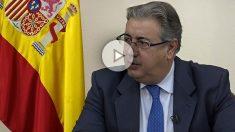Entrevista al ministro del Interior, Juan Ignacio Zoido.