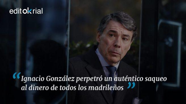 ¿Cuánto robó el expresidente de Madrid?