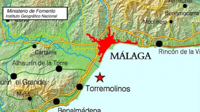 Terremoto Málaga