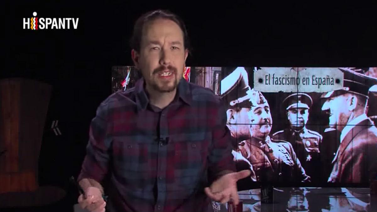 Pablo Iglesias en su programa 'Fort Apache'.