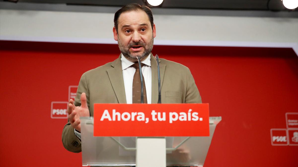 José Luis Ábalos, secretario de Organización del PSOE. (Foto: EFE)   Última hora Cifuentes