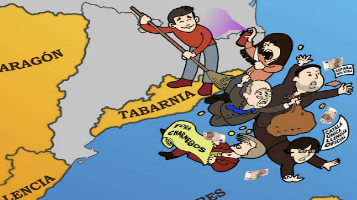 Cartel de Tabarnia
