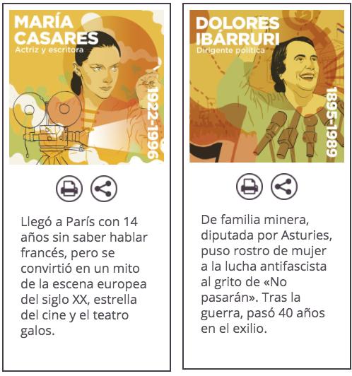 Podemos se burla del santoral católico: vende un calendario con las 'santas' Gloria Fuertes y Pasionaria