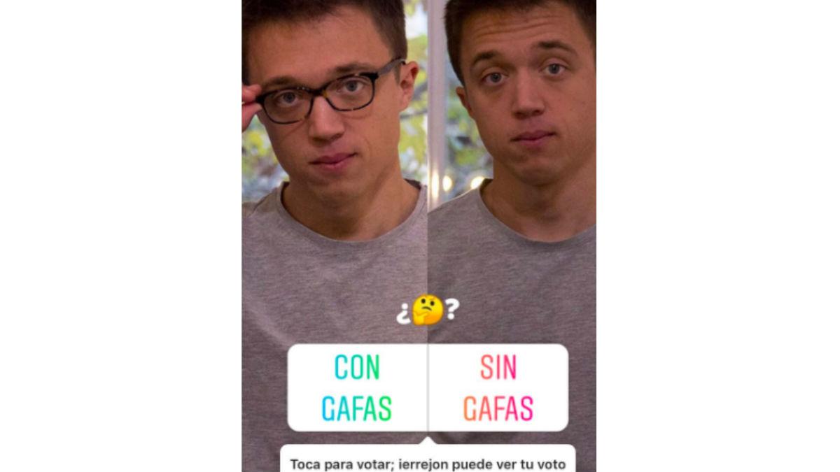 Íñigo Errejón en Instagram.