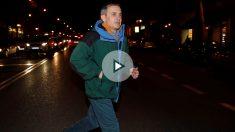 Jordi Pujol tras salir de prisión. Foto: EFE