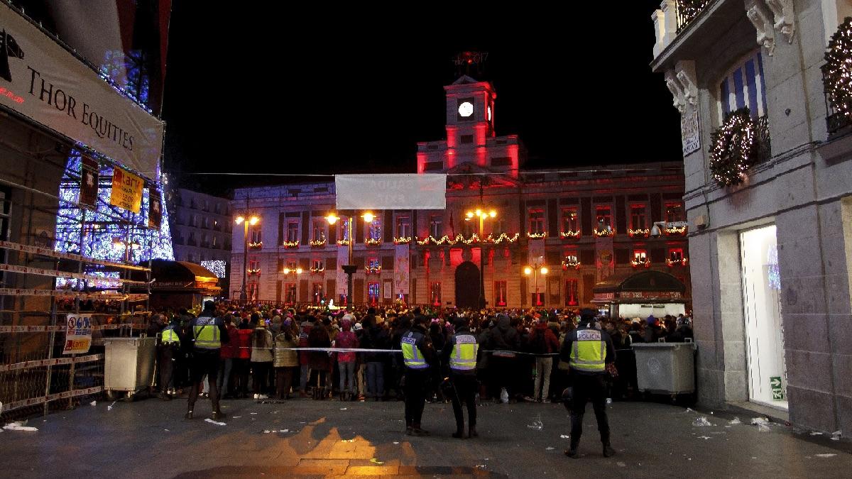 Madrid limita en nochevieja y 39 preuvas 39 el aforo de sol a for Puerta del sol 2017
