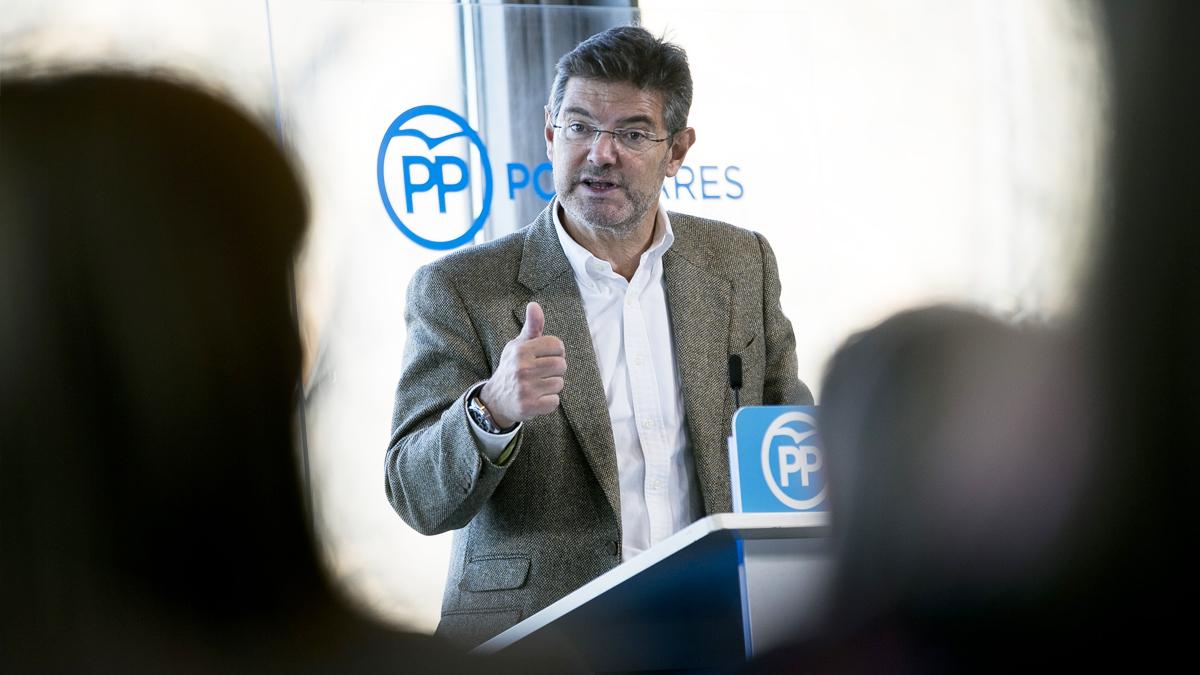 Rafael Catalá, ministro de Justicia. (Foto: PP)