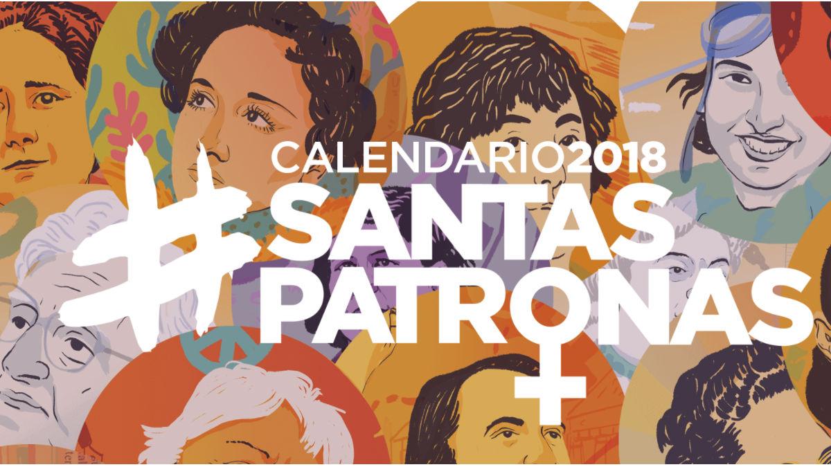 Calendario Santas Patronas de Podemos