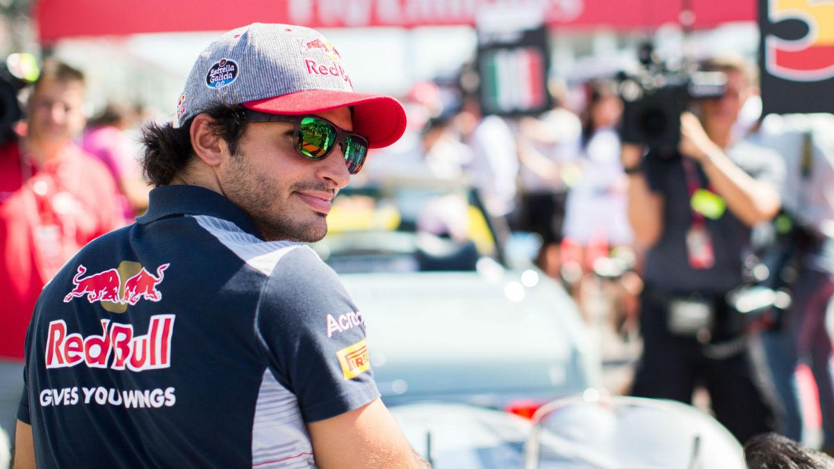 La marcha de Carlos Sainz de Toro Rosso fue una gran pérdida para el equipo italiano, que vio como su máxima fuente de puntos pasaba a competir para un rival directo. (Getty)