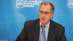 El portavoz del PP en la Asamblea de Madrid, Enrique Ossorio. (PP)