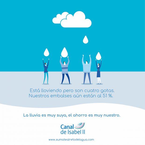 El Canal de Isabel II trabaja para evitar el estrés hídrico en la Comunidad de Madrid