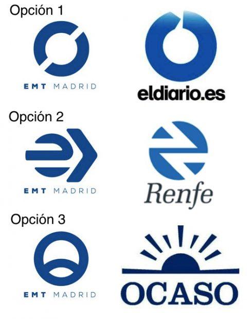 Carmena quiere gastar un millón y medio en cambiar el logo de la Empresa Municipal de Transporte