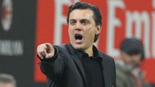 Montella, en un partido con el Milan. (Getty)