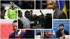 Los exfutbolistas que se pasaron a la política. (Fotos: Getty Images)