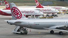 Aviones de Niki y Air Berlin (Foto: AFP)