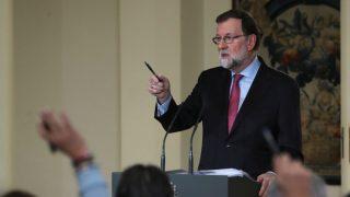 El presidente del Gobierno, Mariano Rajoy, este viernes.