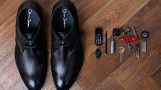 Un zapato creado para los espías