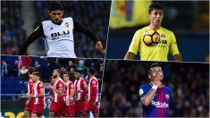 Guedes, Rodri, el Girona y Paulinho, algunos de los nombres propios en lo que va de Liga