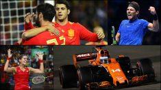 La selección, Nadal, Carolina Marín y Alonso serán protagonistas en 2018.