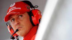Michael Schumacher, en el muro de un Gran Premio de Fórmula 1. (Getty)