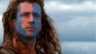 Mel Gibson en 'Braveheart'.