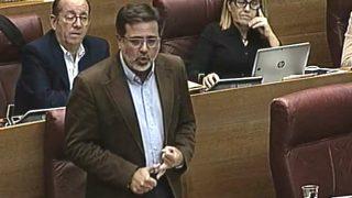 Alfredo Castelló, portavoz de Infraestructuras del PP valenciano.