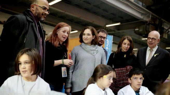 La alcaldesa de Barcelona en la inauguración del salón infantil Ciudad de Los Sueños 2017 en Barcelona