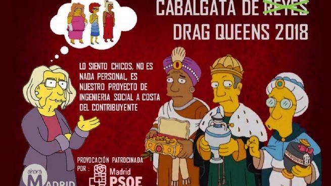 Las redes se mofan de las 'drag queens' de Carmena: «A ver si las pone en el Ramadán»
