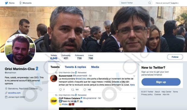 Carmena cedió un recinto municipal para la promoción de la empresa de un independentista catalán