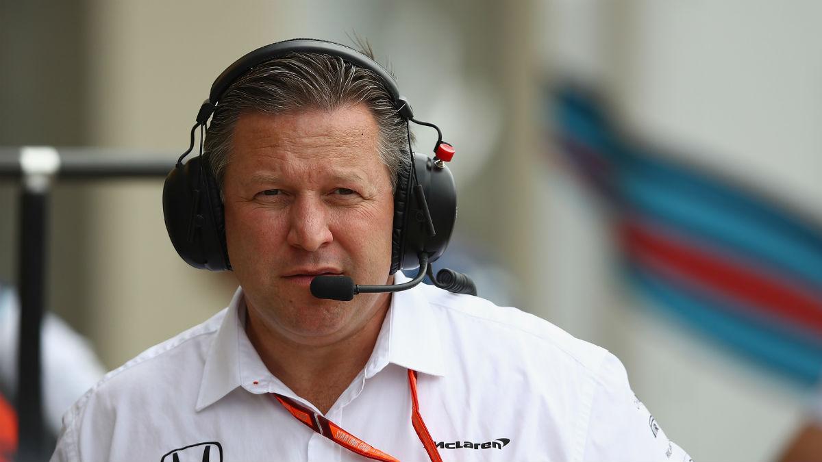Zak Brown, CEO de McLaren (Getty)
