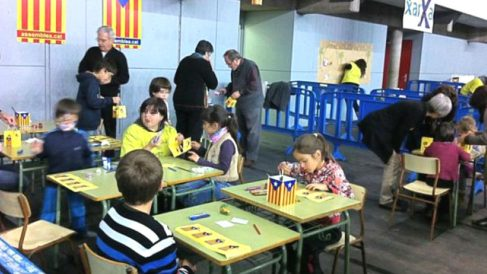 Adoctrinamiento en las aulas de Cataluña.