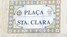 Placa de una calle de Castellón de la Plana sólo en valenciano