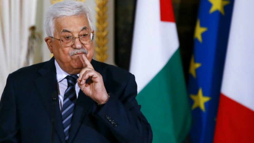 Mahmud Abbas, Presidente de Palestina. Foto: AFP