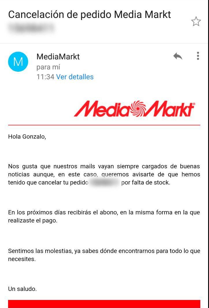 """Un centenar de usuarios acusan a MediaMarkt de """"estafa"""": se quedan sin móvil y sin dinero"""