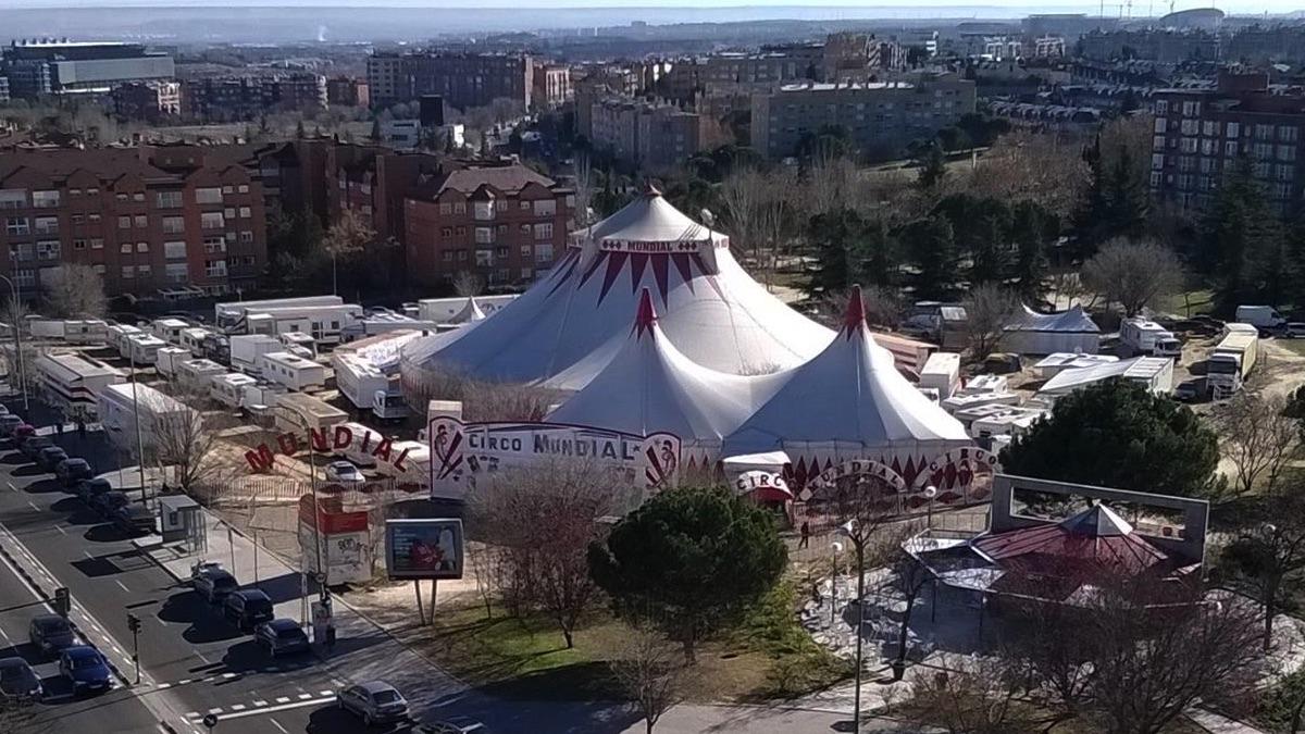 Imagen de archivo del Circo Mundial. (Foto: FB)